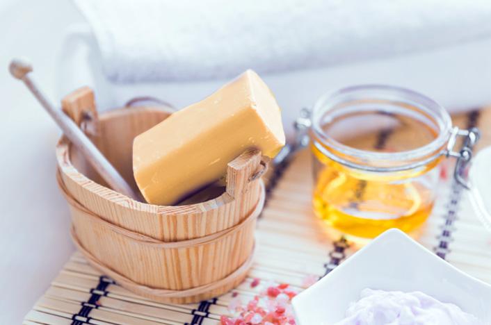 jabón de aceite usado
