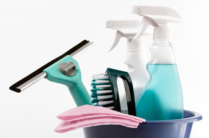 Productos de limpieza para el mantenimiento del aire acondicionado