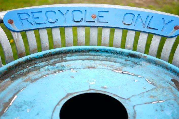 Reciclar para reducir la huella de carbono