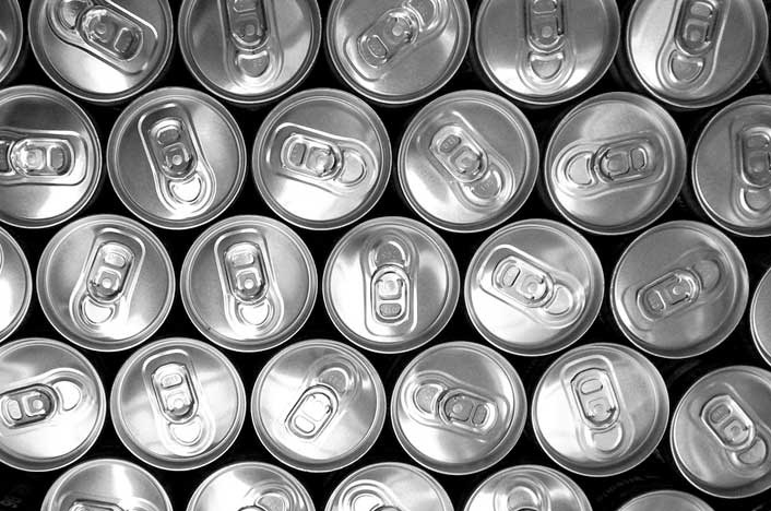 anillas de latas