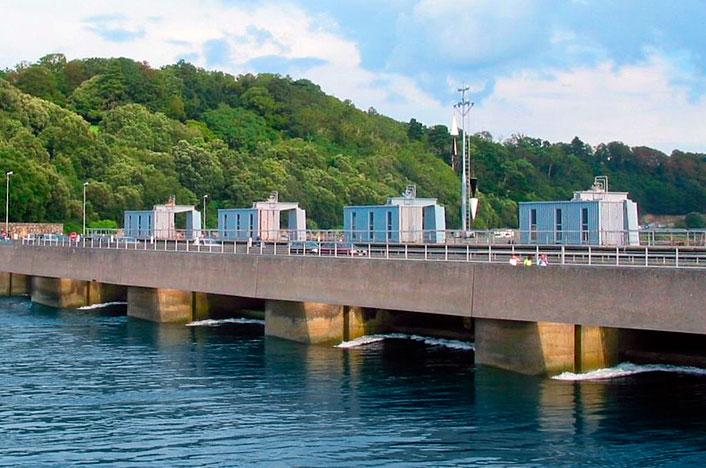 Central de energía mareomotriz