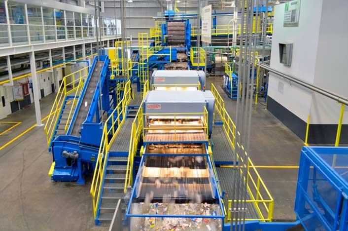 planta de reciclaje