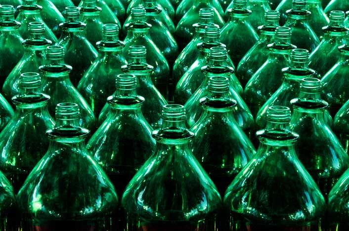 reciclaje de vidrio en Colombia