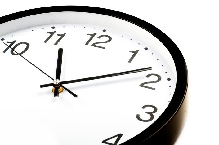 Reloj del termo eléctrico