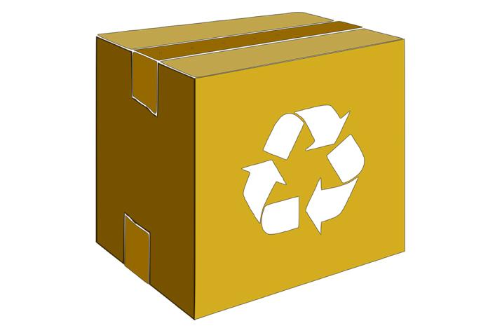 reciclar cartón creativamente