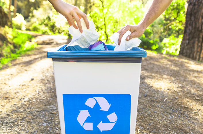 Reciclar, la primera de las 5R de la ecología