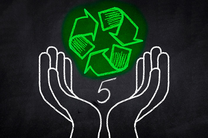 Regla de las 5 R de la ecología