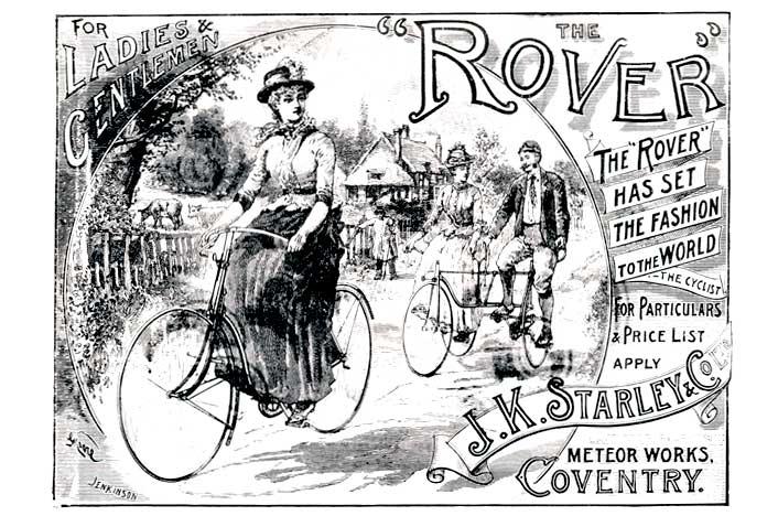 bicicleta rover