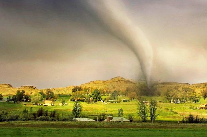 tornado, uno de los desastres naturales más comunes