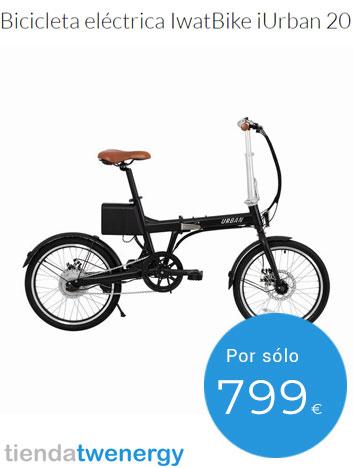 Historia de la bicicleta - Bicicleta eléctrica plegable