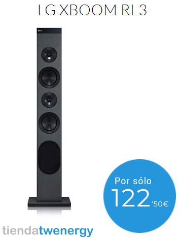 Con LG XBOOM RL3 podrás disfrutar de un gran sonido durante la cuarentena