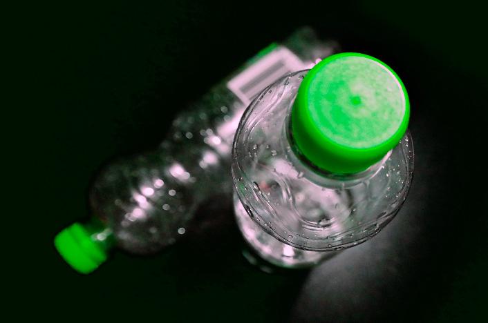 botellas de plástico pla