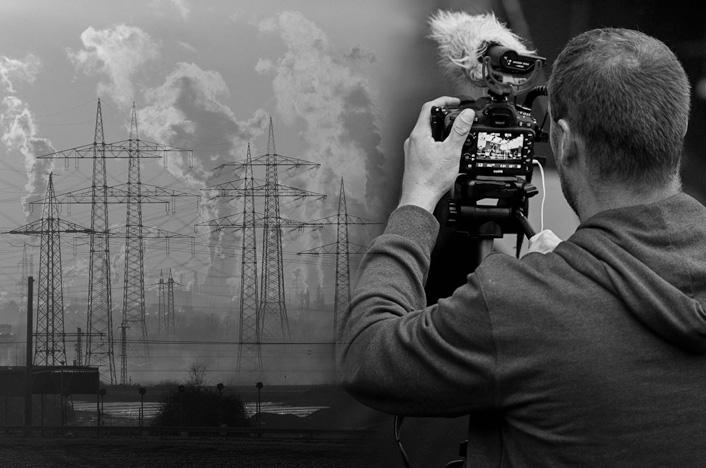 contaminación ambiental y medios