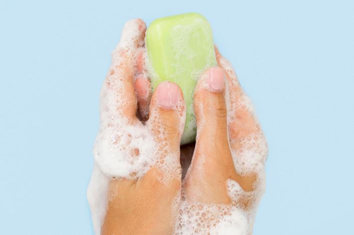 jabón con aloe vera
