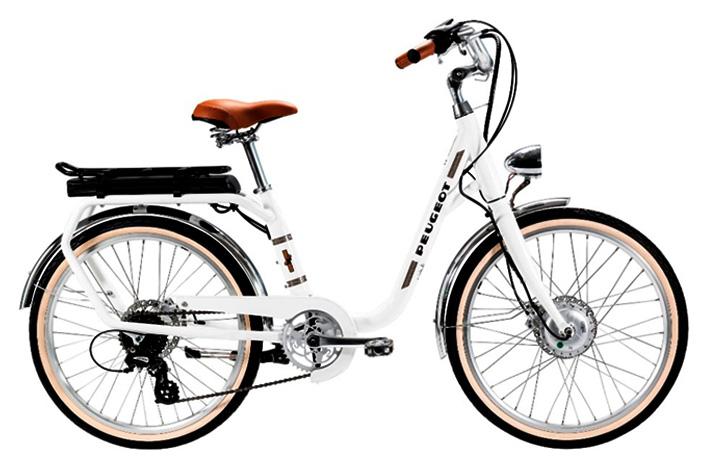 bicicleta eléctrica Peugeot