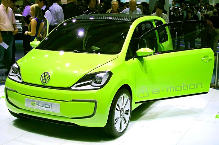 Volkswagen e-up!, uno de los coches eléctricos baratos de Volkswagen