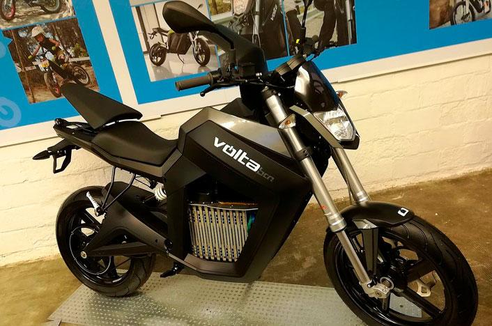 Moto eléctrica Volta BCN