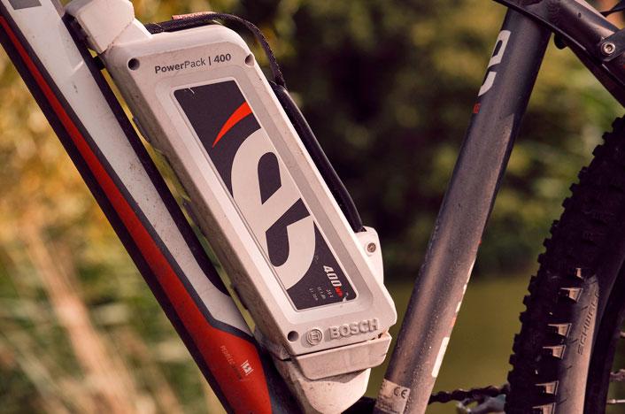 batería de bicicleta eléctrica