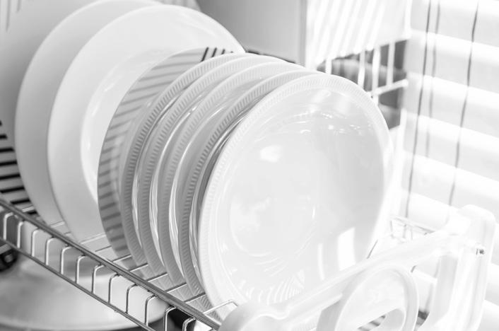 platos en lavavajillas
