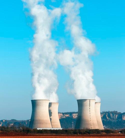 par de centrales nucleares
