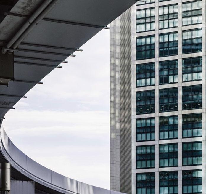 edificio de arquitectura sostenible
