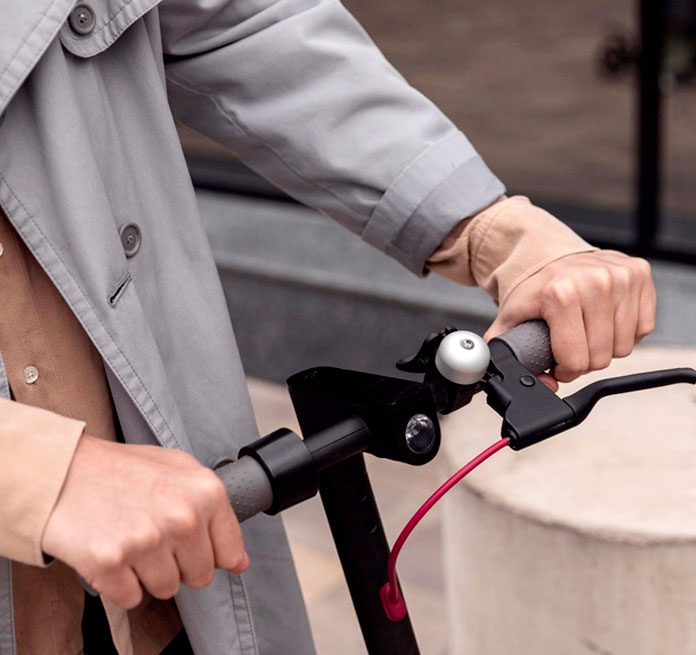 manillar del patinete eléctrico