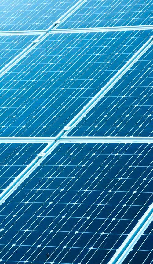 uso de los paneles solares en la arquitectura sostenible