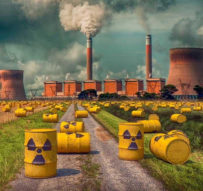 residuos de la energía nuclear