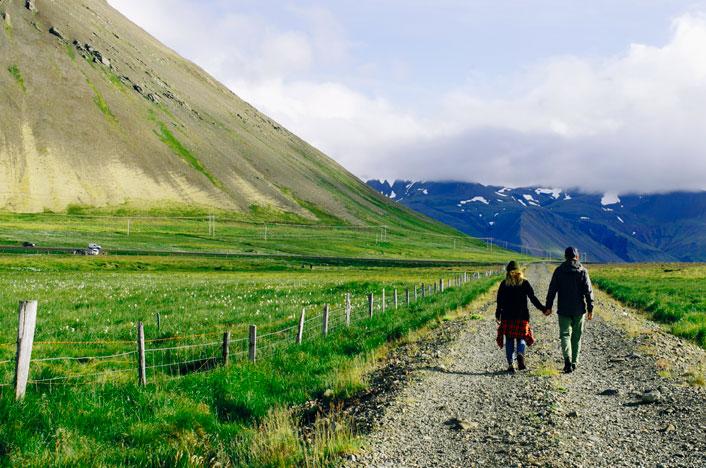 personas en zona rural